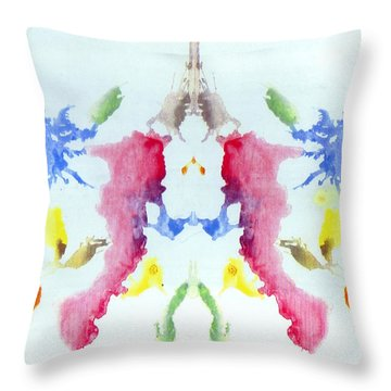 Rorschach Throw Pillows