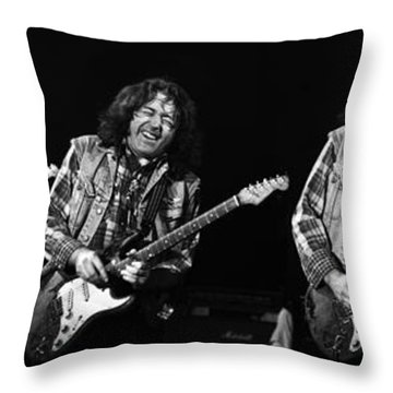 Rory Gallagher 5 Throw Pillow