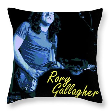 Rory In Kent Throw Pillow by Ben Upham