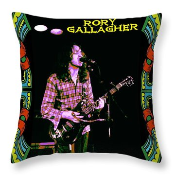 Rory Messin' With The Kid 2 Throw Pillow by Ben Upham