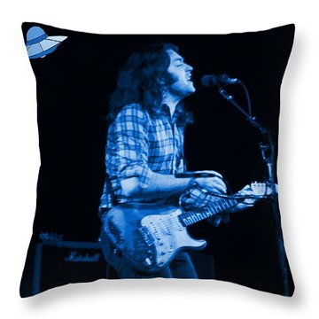 Rory Out Of This World Throw Pillow by Ben Upham
