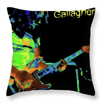 Throw Pillow featuring the photograph Rory Pastel by Ben Upham