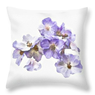 Rosa Canina - Watercolour Throw Pillow