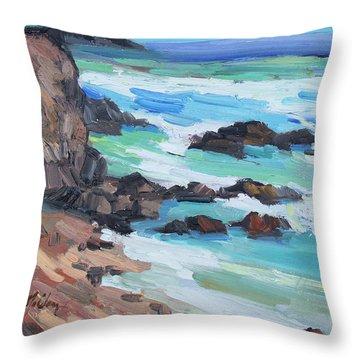 Rosarito Beach Baja Throw Pillow