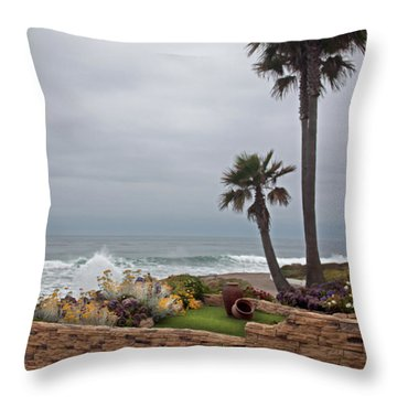 Throw Pillow featuring the photograph Rosarito Beach by Ivete Basso Photography