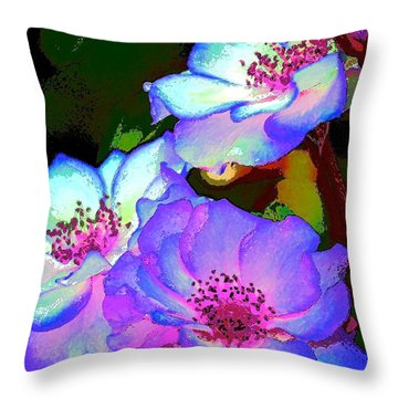 Rose 127 Throw Pillow