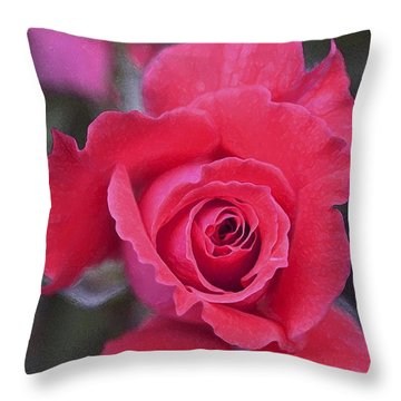 Rose 160 Throw Pillow