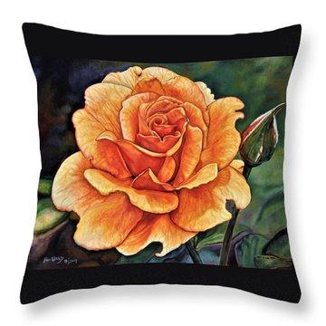 Rose 4_2017 Throw Pillow