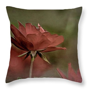 Rose 5 Throw Pillow
