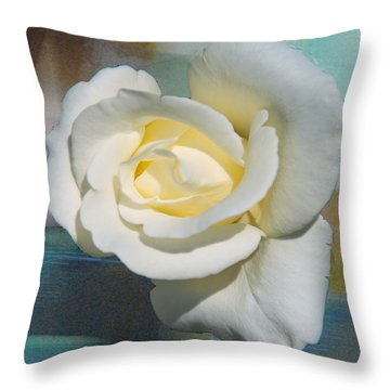 Rose And Lights Throw Pillow