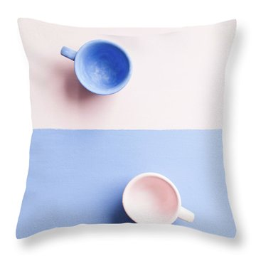 Rose And Serenity IIi Throw Pillow