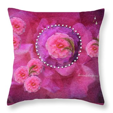 Rose Art A Rose Is Given With Love Throw Pillow