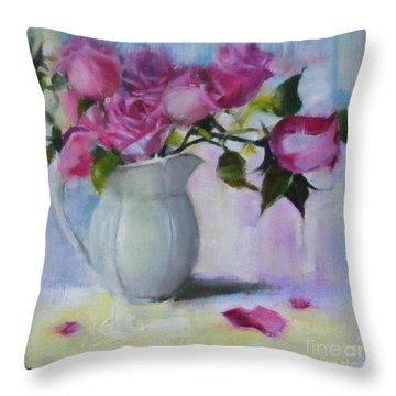 Rose Day Throw Pillow