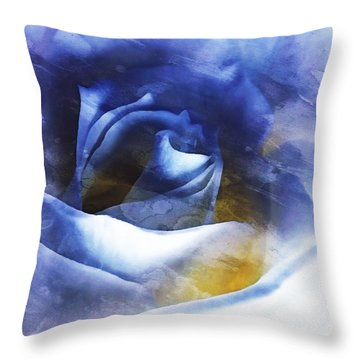 Throw Pillow featuring the photograph Rose - Daydreams - Dreamscape by Janine Riley