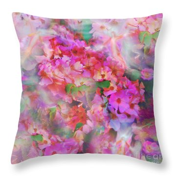 Rose Devas Throw Pillow