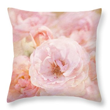 Rose Garden 1 Throw Pillow