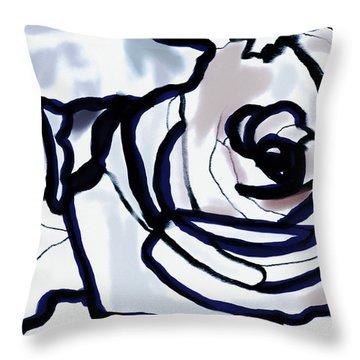 Downturn Throw Pillow