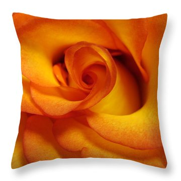 Rose Marie Throw Pillow