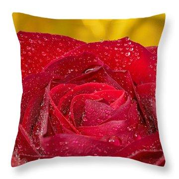 Rose N Gold Throw Pillow