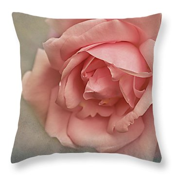 Rose New Dawn Throw Pillow