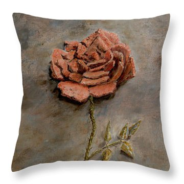 Rose Of Regeneration Throw Pillow