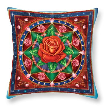Rose - Pure Love Throw Pillow