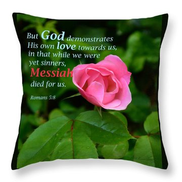 No Greater Love Throw Pillow