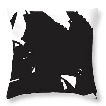 Rose Transformed Throw Pillow