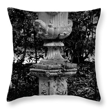 Rose Urn Throw Pillow by DigiArt Diaries by Vicky B Fuller