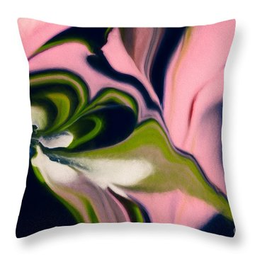 Rose With No Thorns Throw Pillow