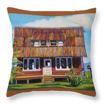 Roseberry House Throw Pillow