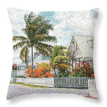 Rosebud Briland Throw Pillow