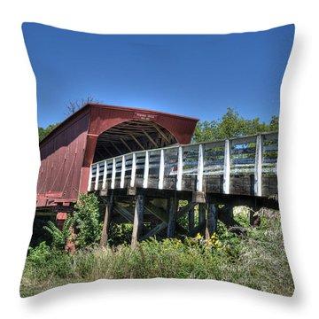 Roseman Bridge No. 5 Throw Pillow by Janice Adomeit