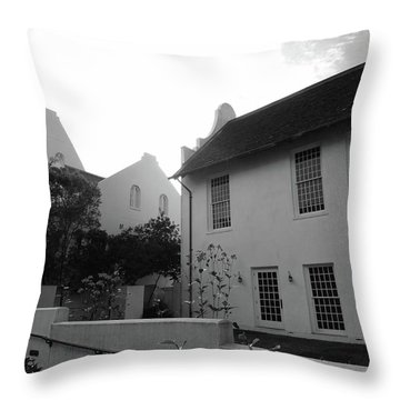 Rosemary Beach Throw Pillow by Megan Cohen