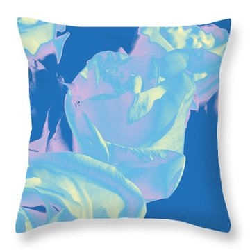 Roses #3 Throw Pillow