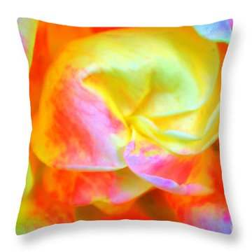 Roses 3 Throw Pillow