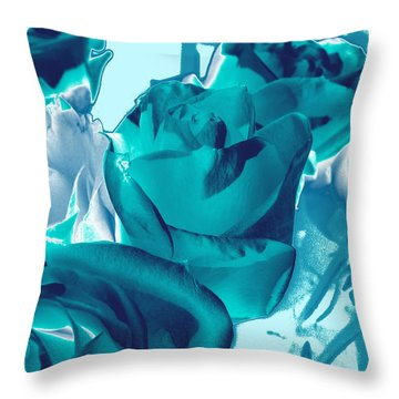 Roses #4 Throw Pillow