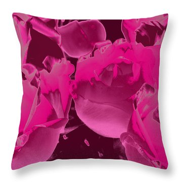 Roses #5 Throw Pillow