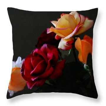 Roses Are Forever 1 Throw Pillow