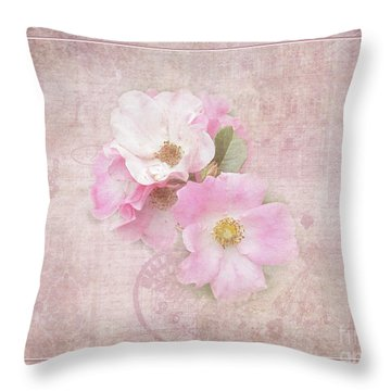 Roses Eternal Throw Pillow