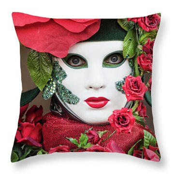 Roses II Throw Pillow