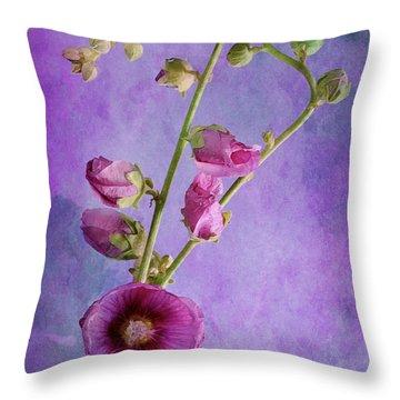 Roses  Throw Pillow by Karo Evans