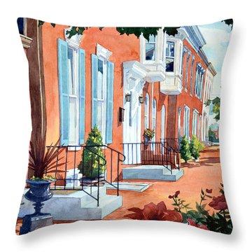 Rosewalk Throw Pillow