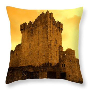 Ross Castle Throw Pillow