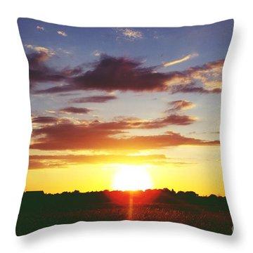 Rossington Sunset 2 Throw Pillow