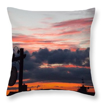 Rossington Sunset Throw Pillow