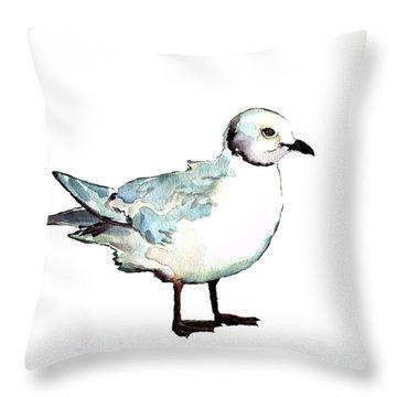 Ross's Gull Throw Pillow