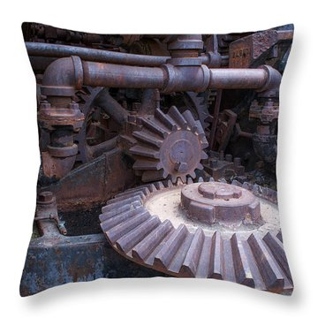 Throw Pillow featuring the photograph Rotary Tribute 2 by Rhys Arithson