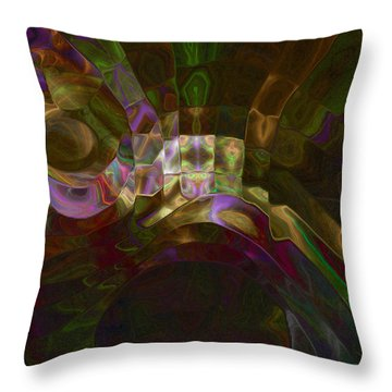 Rotation Throw Pillow