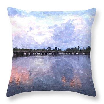 Rotonda River Roriwc Throw Pillow